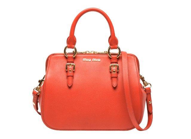 c218845813a86 Baluetto é o nome da nova bolsa Miu Miu cria para Coleção Madras.  Disponível em todas as lojas da marca em Maio de 2012.